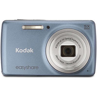 EasyShare M552 14MP Blue Grey Digital Camera