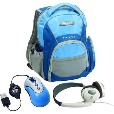 BUS0183 - My 1st PC Mini Netbook Accessory Bundle (Blue)
