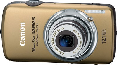 Powershot SD980 IS Digital ELPH Digital Camera (Gold)