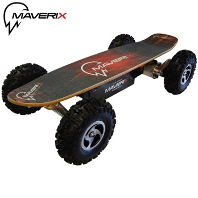 800 Watt Electric Skateboard Border X: Offroad Like a Pro - OPEN BOX