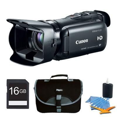 VIXIA HF G20 32GB Camcorder HD CMOS Pro Image Sensor w/ 3.5` Touch LCD +16GB Kit