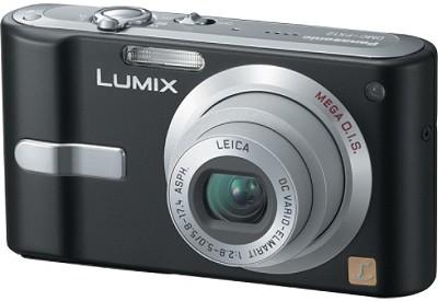 DMC-FX12K (Black) Lumix 7.2 megapixel Digital Camera w/ 2.5-inch LCD