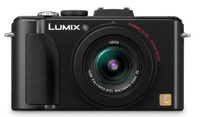Lumix DMC-LX5 Digital Camera (Black)