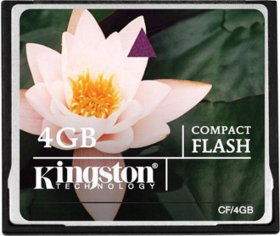 4GB CompactFlash Memory Card