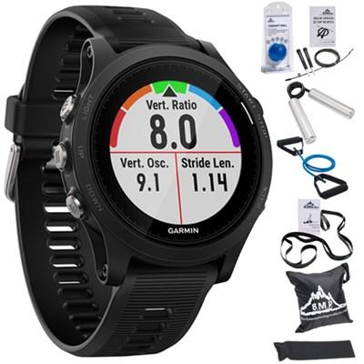 Forerunner 935 Sport Watch (Black) + 7 Pcs Fitness Kit
