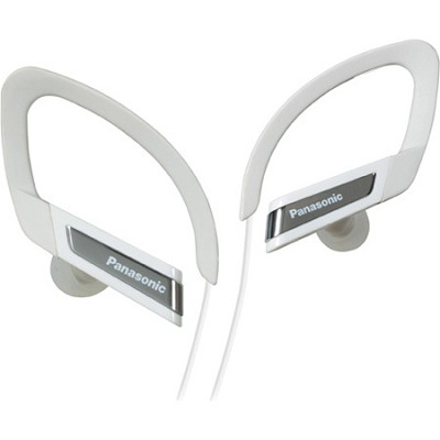 RP-HSC200-W Sports Clip Earphones with iPhone Controller (White)