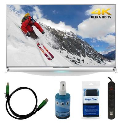 XBR-65X800B - 65-inch 4K Ultra HD Smart LED TV Motionflow XR 240 Bundle