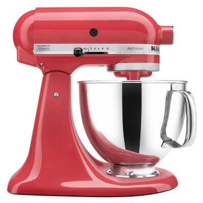 Artisan Series 5-Quart Tilt-Head Stand Mixer in Watermelon - KSM150PSWM