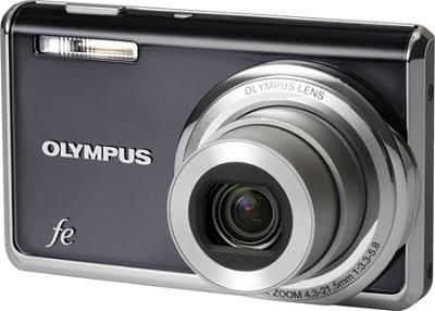 FE-5020 12MP Digital Camera w/ 5x Wide Angle Opt Zoom, 2.7 inch LCD (Dark Grey)