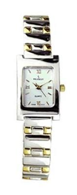 758TT Two Tone Metal Link Watch