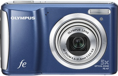 FE-47 14MP 2.7` LCD Digital Camera (Blue)