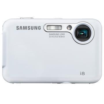 i8 8MP 2.7` LCD Digital Camera (White)