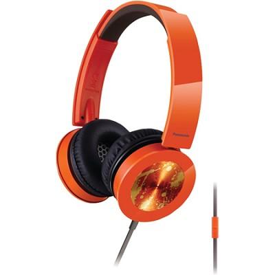 Sound Rush Plus On-Ear Headphones w/ Mobile Controller, Orange