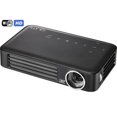 Qumi Q6 800 Lumen WXGA 720p HD LED Wireless Pocket Projector - Gray, Refurbished