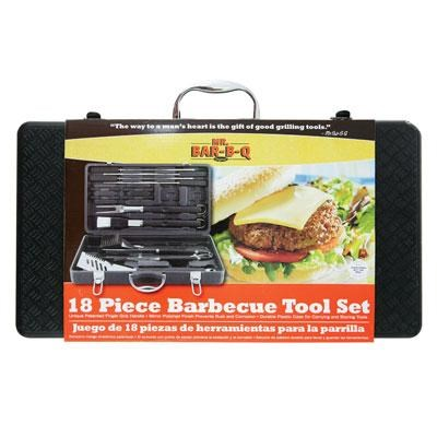 18-Piece Barbecue Tool Set with Plastic Case - 94056X