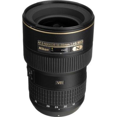 16-35mm f/4G ED-VR AF-S Wide-Angle Zoom Lens With Nikon USA Warranty
