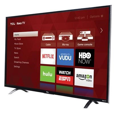 43` Premium 4K 120Hz Smart LED Backlit Roku TV - 43UP130