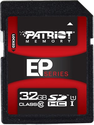 EP Series 32 GB Class 10 SDHC Card