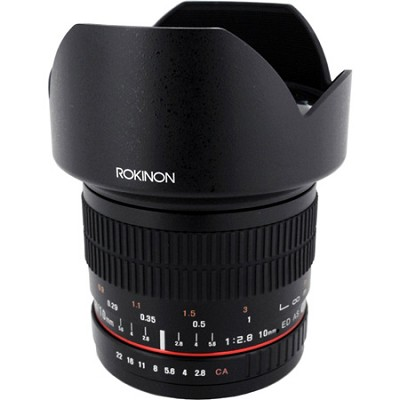 10mm F2.8 Ultra Wide Angle Lens for Sony A Mount