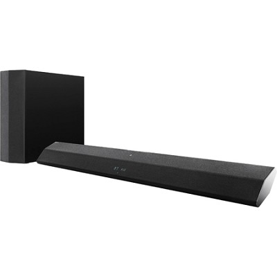 300W 2.1 Sound Bar with Wireless Subwoofer - HT-CT370