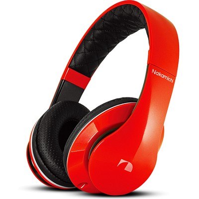 NK950 Series On-The Ear Headphones with Mic - Red