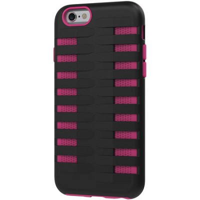 Cobra Apple iPhone 6 Silicone Dual Protective Case - Black/Pink