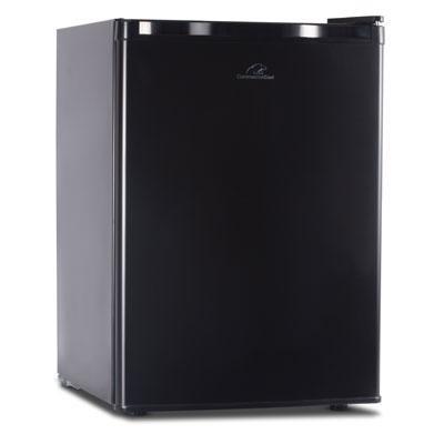 CC 2.6 cuFt Compact Refrigerator Mini Bar Office Fridge Freezer - Black