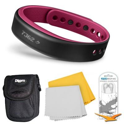 vivosmart Bluetooth Fitness Band Activity Tracker - Small - Berry Bundle