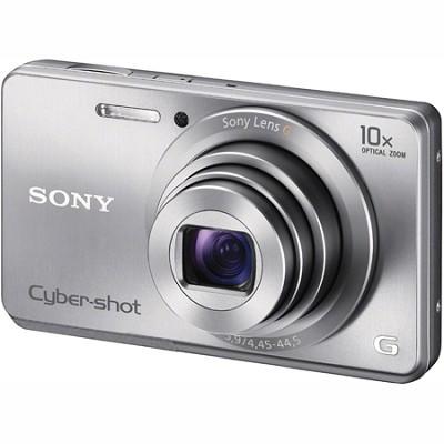 DSC-W690 16MP 10X Zoom 720p Video Digital Camera (Silver)