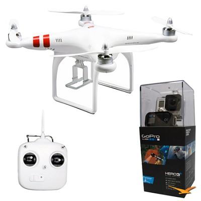 Phantom Aerial UAV Drone Quadcop Multi-rotor System w/ GoPro HD HERO3+ Black