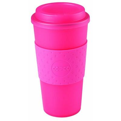 Acadia Travel Mug, 16-Ounce, Translucent Pink 2510-0410