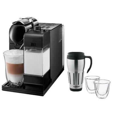 Lattissima Plus Capsule Espresso/Cappuccino Machine w/ Glasses & Travel Mug