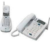 26958GE1 900 MHz Corded Speakerphone Base & Cordless Phone w/Caller ID & Ans.Ma
