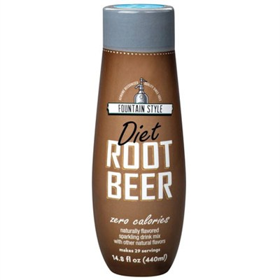 Fountain Style Diet Root Beer Cola Syrup, 14.8 Fluid Ounce