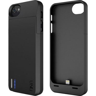 DX-05 Protective Battery Case for iPhone 5/5s - Matte Black