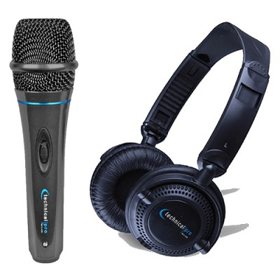 MK75 Microphone & HP23 Headphone Bundle