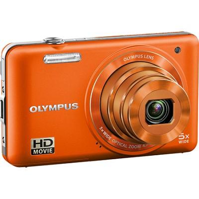 VG-160 14MP 5x Opt Zoom Orange Digital Camera - Orange