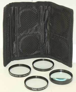 Digital Concepts 52mm 4-piece Close-up lens set - Zoom in on the Details!