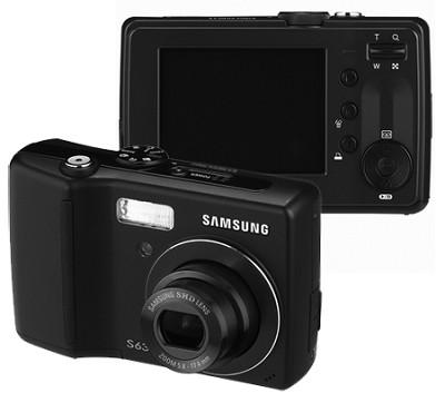 Digimax S630 6.0 MP Digital Camera (Black)