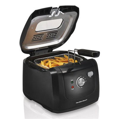 35021 Deep Fryer with Cool Touch, Black
