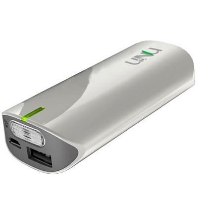 Enerpak Tube 5000mAh USB External Battery Pack (White)