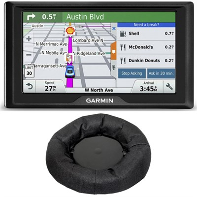 Drive 50 GPS Navigator (US and Canada) 010-01532-08 Dashboard Mount Bundle