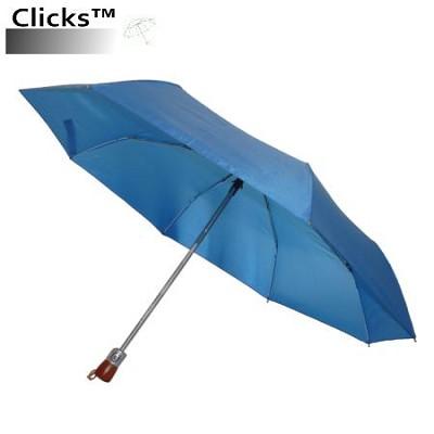 CKS2502 Royal Blue 42` Automatic Open/Close Wood Handle Umbrella