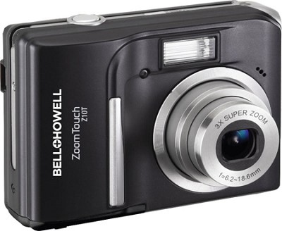 Z10T ZoomTouch 10 MP Black Digital Camera w/ 3X Zoom, 3.0 Inch Touch LCD