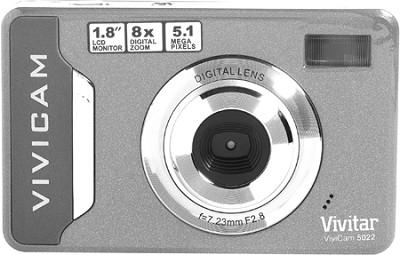 Vivicam 5022 Digital Camera (Silver)