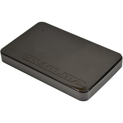 PCGTII25S Gauntlet 2 Black USB 3.0 HDD Enclosure