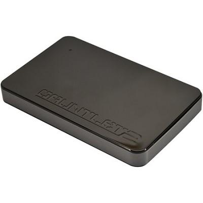 PCGTII25S Gauntlet 2 Black USB 3.0 HDD Enclosure