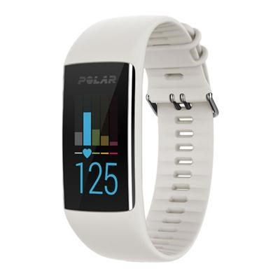 A370 Fitness Tracker with 24/7 Wrist Based HR White Small (90064905)