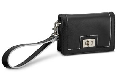 Fashion Clutch Leatherette Case (Black)