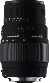 70-300mm F4-5.6 DL-M DG Lens (Motorized) for Nikon AF